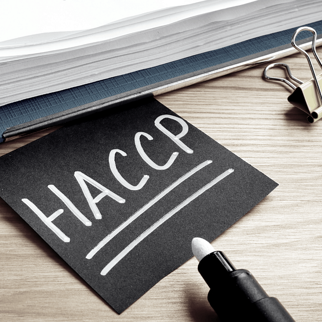 HACCP plans from the Food Safety Company